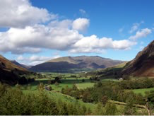 Blencathra in the heart of the Lake District